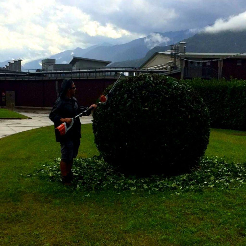 Manutenzione parco aziendale - Montagna in Valtellina