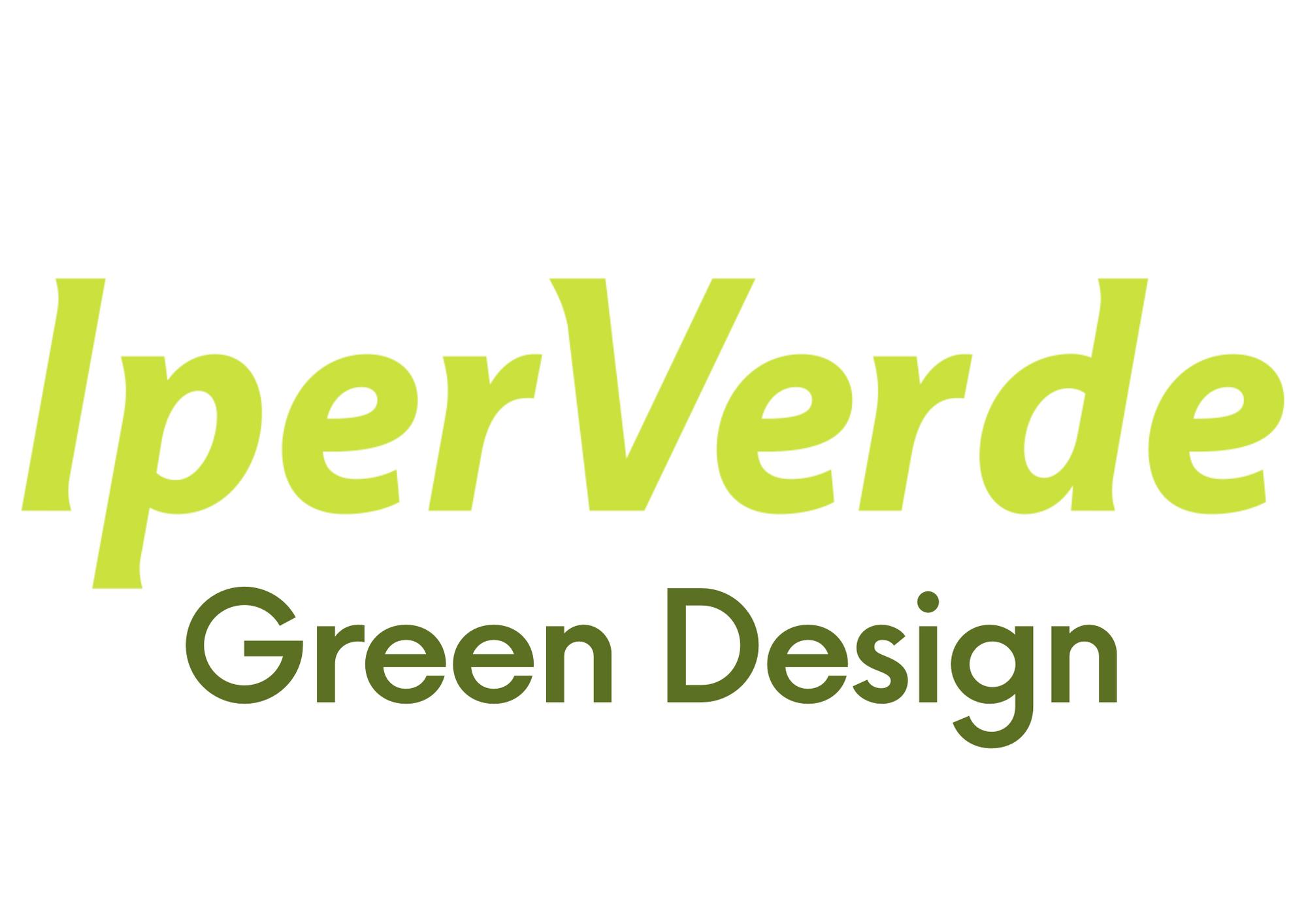 logo Iperverde green design