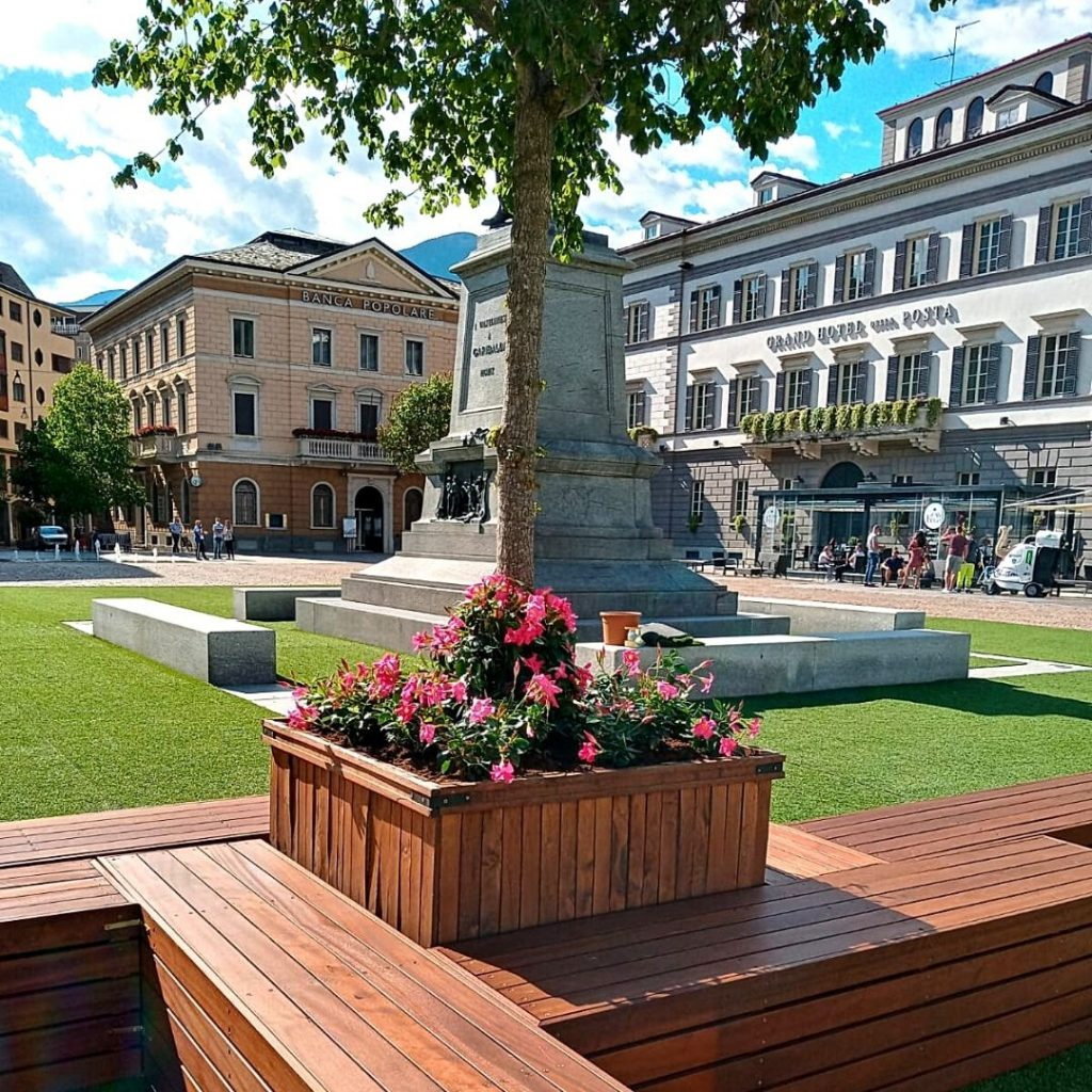 piazza Garibaldi sondrio